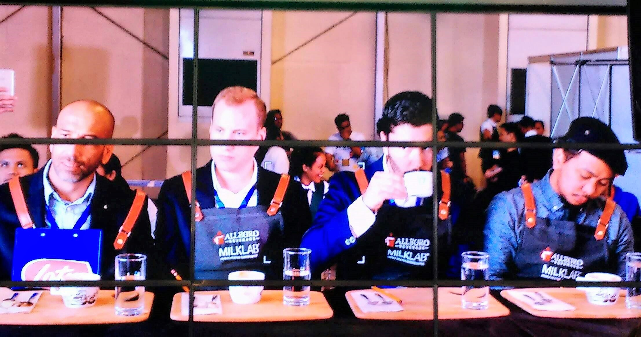 barista cup judges
