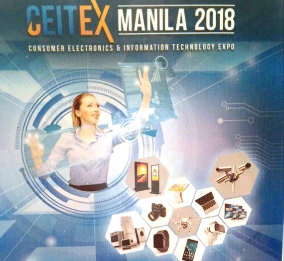 Get ready for CEITEX Manila 2018