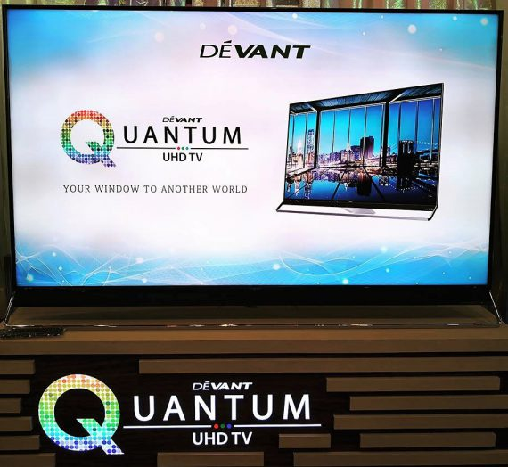 HERE COMES DEVANT'S QUANTUM ULTRA HIGH DEFINITION TV (UHDTV)