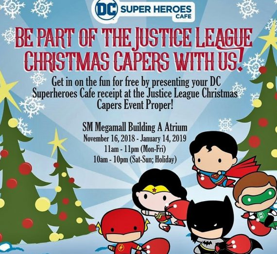 The Justice League Christmas Capers invade SM Megamall
