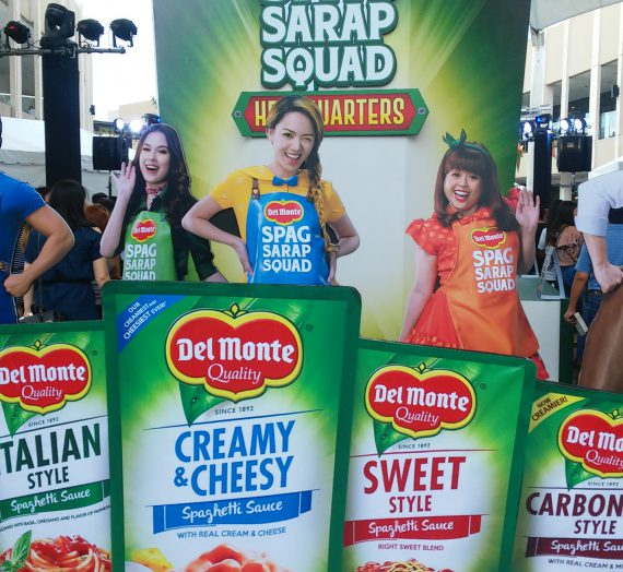 Del Monte's Spag Sarap Squad saves the day with delicious spaghetti