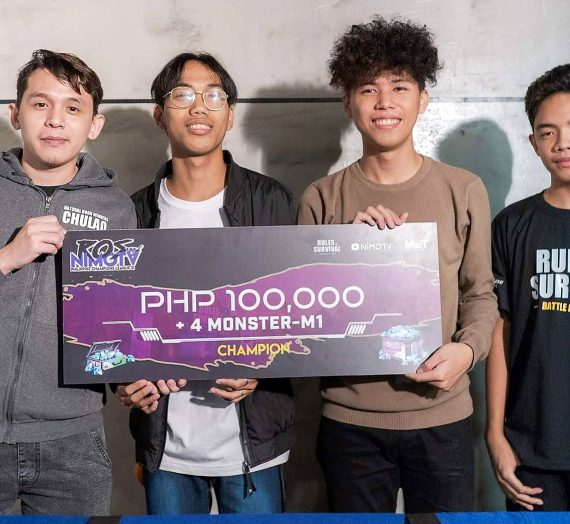 Sealteam Peenoise claims supremacy in the Rules of Survival – Nimo TV Philippine Champions League Season 1