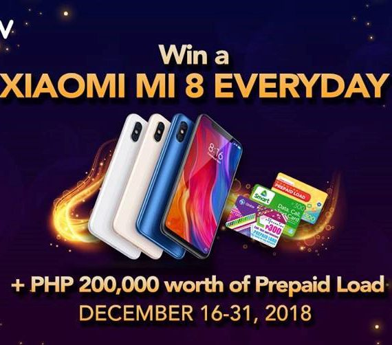 Win a Xiaomi Mi 8 Daily by Watching Sinio and TNC Predator Pro Team's Armel and Tims via Nimo TV