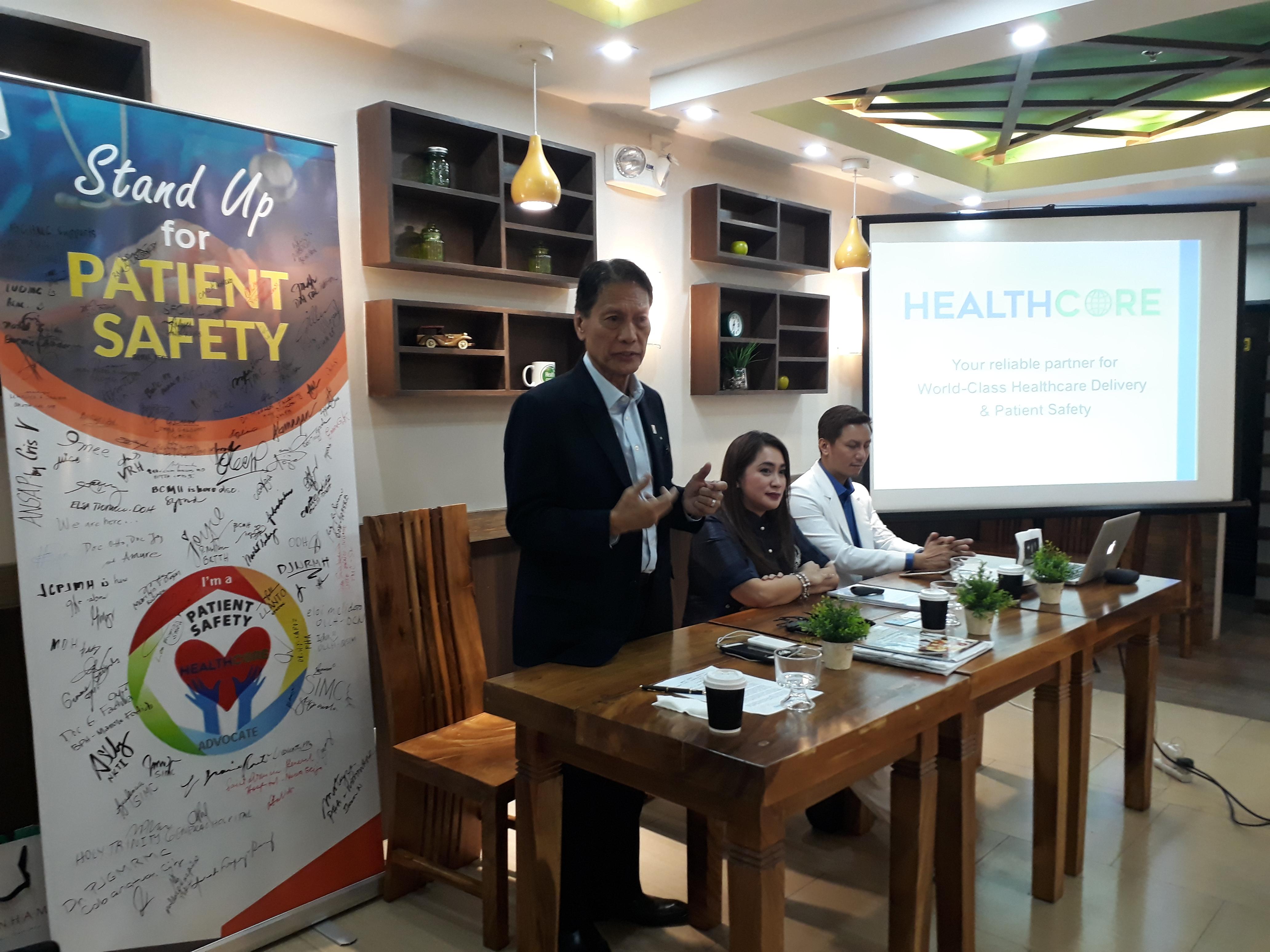 HealthCore Press Briefing 2