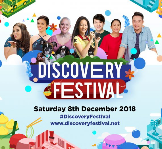 TLC Festival returns as Discovery Festival at Bonifacio High Street today (8th December)