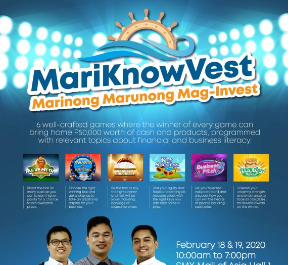 Game show-themed educational event dubbed 'MariKnowVest' reward seafarers and their families on February 18 & 19, 2020