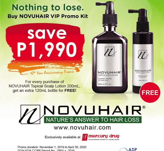 Get an Extra Bottle of Novuhair For Free