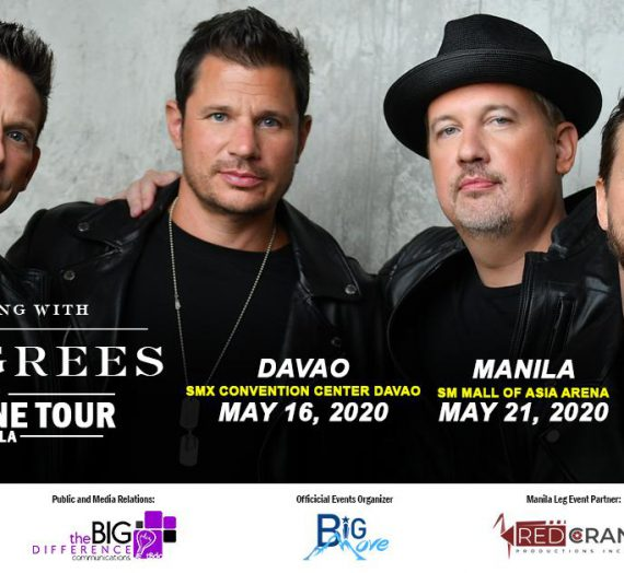 Christian Biando and Mark Michael Garcia front acts for 98 Degrees Ph Tour