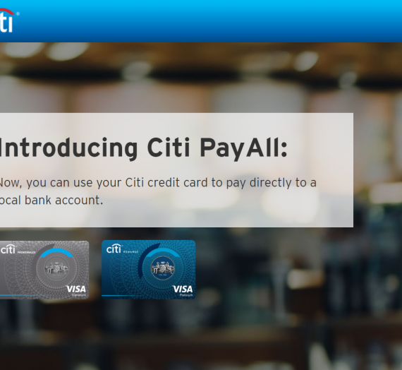 Pay your rent, school fees, insurance policies and professional fees with Citibanks' Citi PayAll