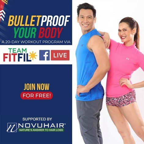 NOVUHAIR® gives free work-out via 'Bulletproof Immune System Activity Booster'