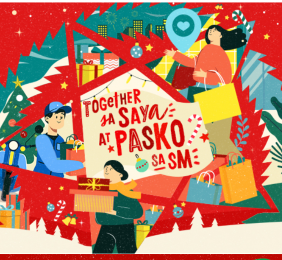 Its Christmas Time once again, kaya #SamaSamaTayoSaPaskoAtSM!