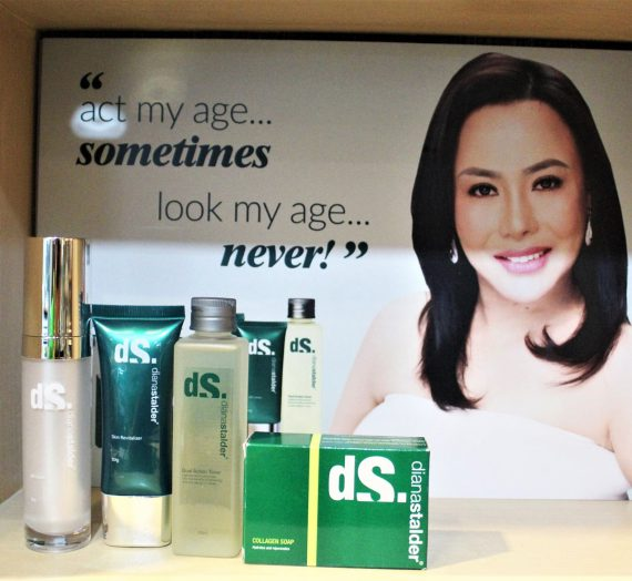 Look and feel beautiful with Diana Stalder's promise of a better you