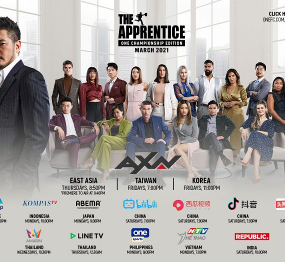 The Apprentice: ONE Championship Edition on AXN, TV5 and One Sports