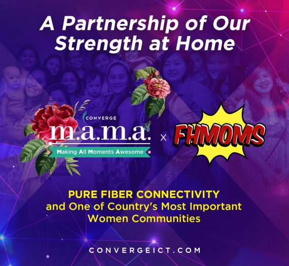 Filipina Home-based Moms (FHMOMS) partners with Converge through Converge M.A.M.A.