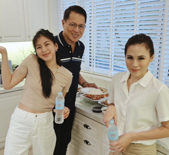 The best water for health and beauty as per Toni and Alex Gonzaga