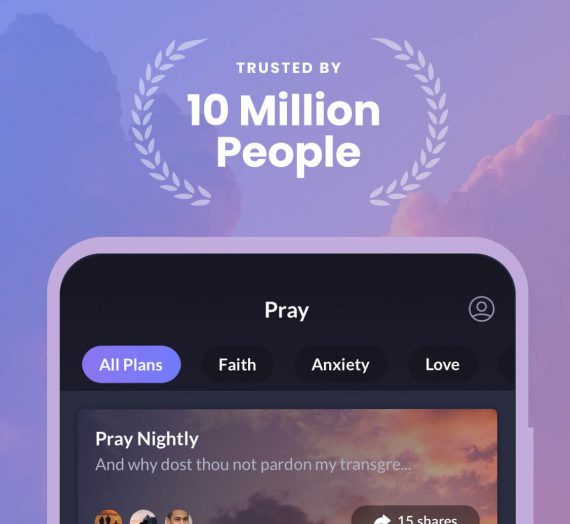 Gary V is Prayer.Ph ambassador, connects people to the power of prayer through the app