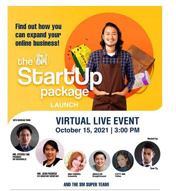 SM Supermalls launches The SM StartUp Package for aspiring Filipino entrepreneurs. 100 small business owners invited to set up shop in SM malls